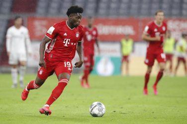 Alphonso Davies breaks Bundesliga speed record during last match