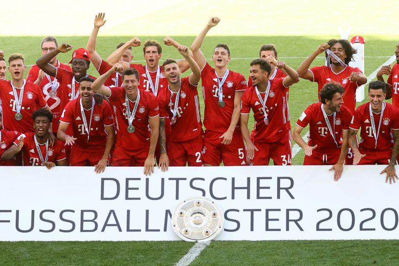 Football: Bayern Munich are Europe's restart kings