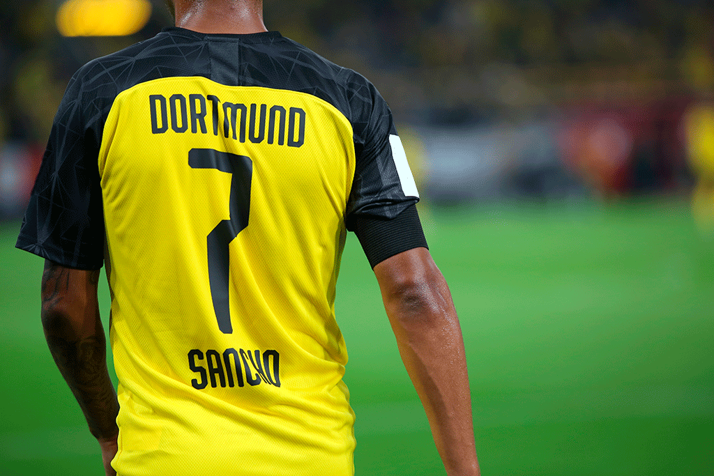 Jadon Sancho at Borussia Dortmund