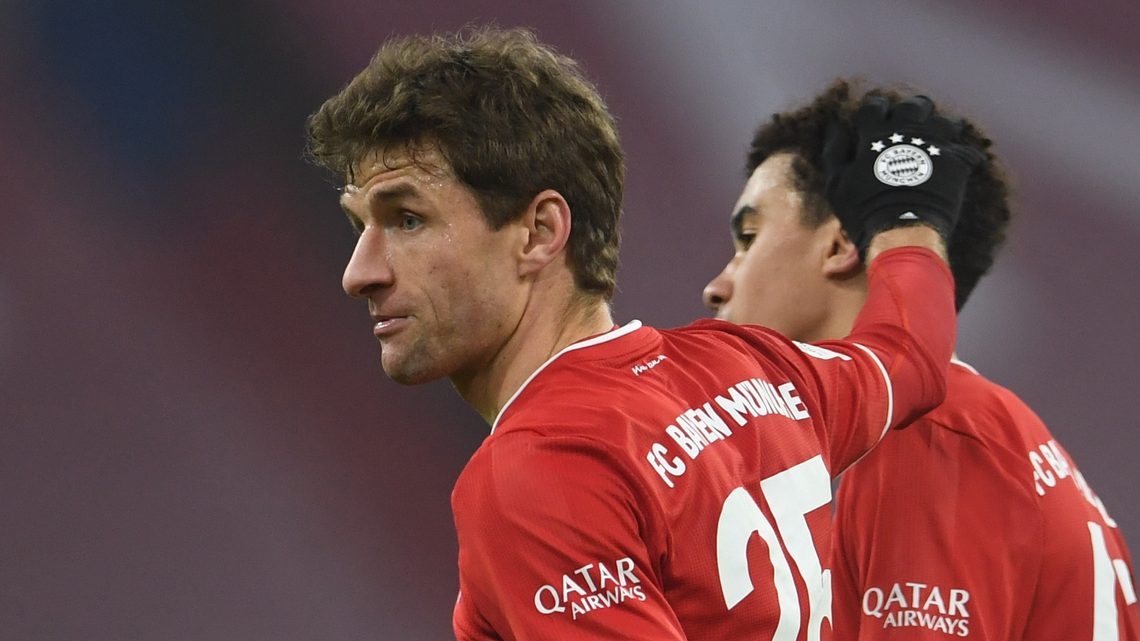 """Bayern Munich's Thomas Müller: """"I'm very happy with Jamal Musiala"""""""